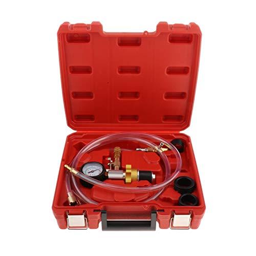 prasku Sistema de Refrigeración Por Vacío Del Motor Kit de Herramientas de Purga de Recarga de Refrigerante Del Radiador Del Coche