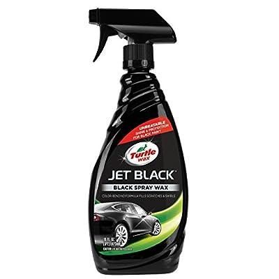 auto black spray wax