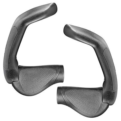 Ergon GP5-S fiets stuur grepen full size BarEnd multipositie 5-vinger BarEnd stuurhoorn, 424 000 70, schakeling gripshift, kleur zwart