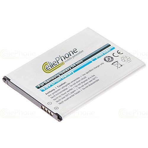 cellePhone Akku Li-Ion kompatibel mit Samsung Galaxy S4 Mini (GT-I9190) (Ersatz für EB-B500BEBECWW)