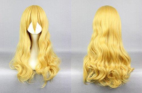 Ladieshair Cosplay Perücke blond 63cm Shigatsu wa Kimi no Uso - Kaori Miyazono