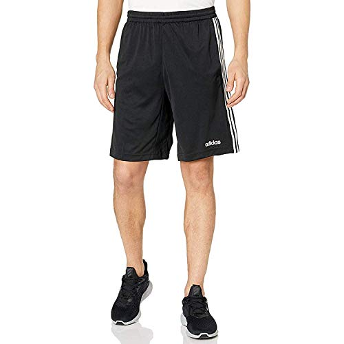 adidas Men's Design 2 Move Climacool 3-Stripes Training Shorts, Black, X-Large