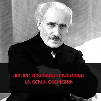 Arturo Toscanini conducting La Scala Orchestra