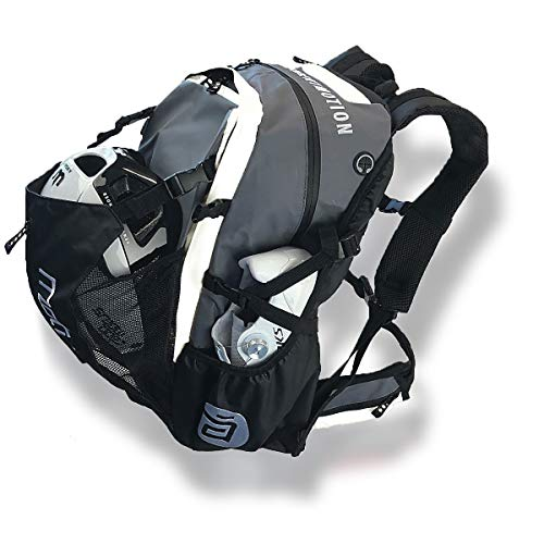 CADOMOTUS Waterflow Race Day Gear Bag | grey-white