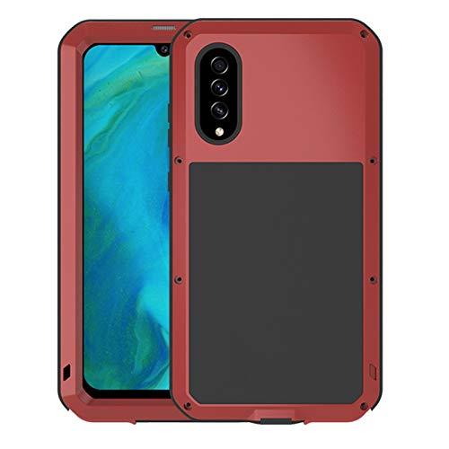 LBWNB Carcasa de telefono Funda de Armadura de Metal a Prueba de Agua Fit For Samsung Galaxy A71 A51 A70S A50 A90 A40S A30 A30S Funda a Prueba de Golpes para Impermeables