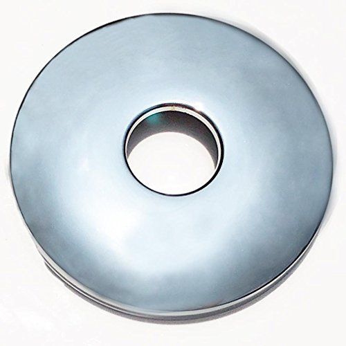 MissMin Shower arm flange/escutcheons/cover plate,3-1/8 inch,polished chrome