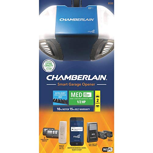Chamberlain Group B550 Smartphone-Controlled Ultra-Quiet and...