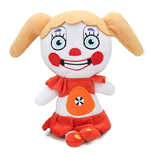 Moldival FNAF Plushies-(Circus Baby Plush)- Five Nights at Freddy's Plush: Chica, Springtrap, Bonnie, Marionette, Foxy Plush - Freddy Plush-FNAF Plush-Kid's Toy-Stuffed Animal-FNAF Nightmare Plush