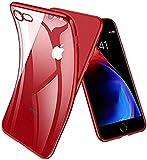 Joyguard Coque iPhone 8, Coque iPhone 7 [2 × Verre trempé Protection écran], Premium TPU Souple Silicone Plating...