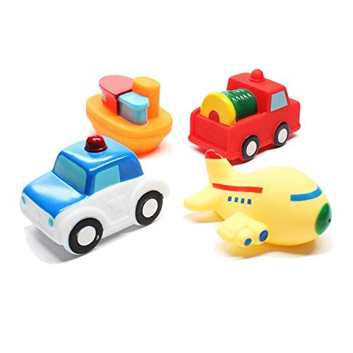 Svance Kids Bath Toys Floating Bathtub Toy for Babies, Toddlers Bathtime Fun Toys 4 Packs
