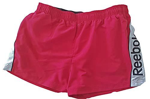 Reebok Herren Badeshorts Badehose Swim Shorts rot XL