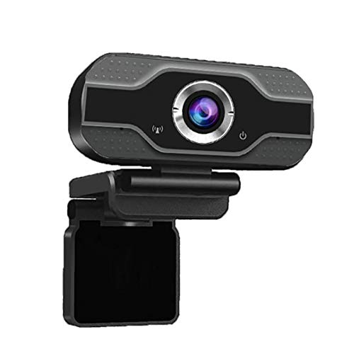 Rovive Ultra HD 1080P Webcam Digitale Externe Drive Gratis Camera USB PC Laptop Handmatige Focus voor Online Class Conference Live Streaming Gaming Calling