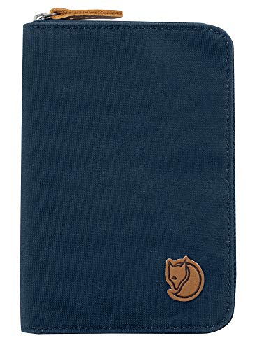 Fjallraven Passport Wallet Wallets and Small Bags, Unisex Adulto, Navy, OneSize