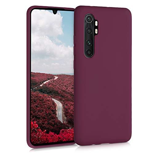 kwmobile Hülle kompatibel mit Xiaomi Mi Note 10 Lite - Hülle Handyhülle - Handy Hülle in Bordeaux Violett