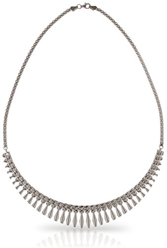 SilverLuxe 925 Sterling Silver Rhodium Plated Collar Style Cleopatra Necklace