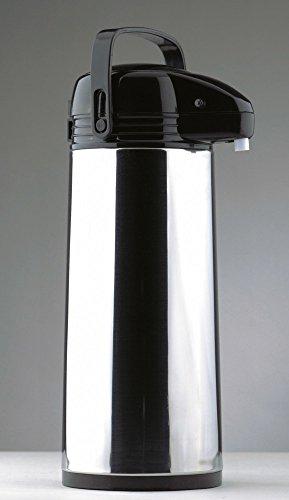 Airpot 1,8 L.Glaseins .Kopf+ Boden schwarz