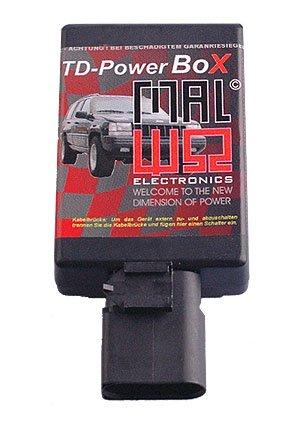 Preisvergleich Produktbild TDUPowerBox Diesel Chiptuning Modul passend für FiatDucato 1.9 TD 66 KW / 90 PS / 196 Nm