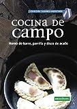 COCINA DE CAMPO: horno de barro, parrilla y disco de arado