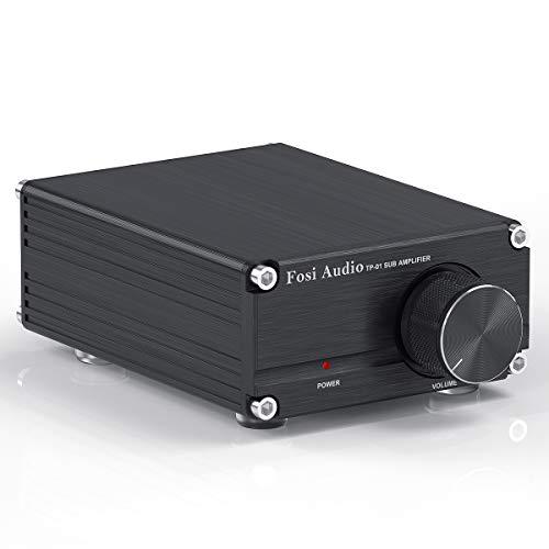 Amplificador de subwoofer 100W Mini amplificador Digital clase D de audio estéreo de alta fidelidad para Sub + fuente de alimentación