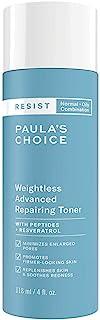 """Paula""""s Choice Resist Anti Aging Repairing Gesichtswasser - Bekämpft Zeichen von Hautalterung für Unreine Haut - mit Niacinamid & Hyaluronsäure - Mischhaut bis Fettige Haut - 118 ml"""