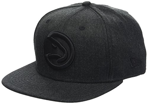 New Era Herren Total Tone Snapback 9FIFTY Atlanta Hawks NBA Cap, Black