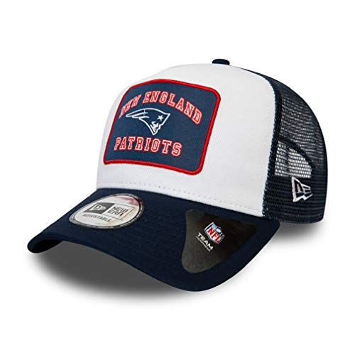 A NEW ERA Era England Patriots NFL Cap Verstellbar Trucker Kappe American...