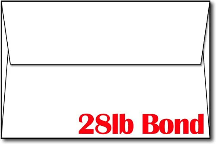 28lb/70lb Bright White A9 Envelopes (5 3/4