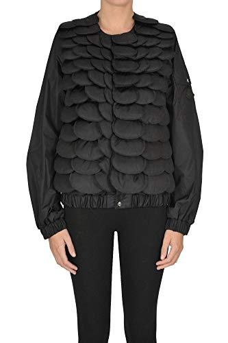 Luxury Fashion | Moncler Dames MCGLCSG0000A7000E Zwart Nylon Outerwear Jassen | Seizoen Outlet