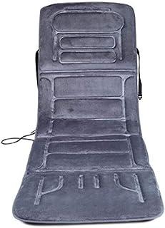 Colchoneta de Masaje con Calor, colchón de Masaje de Cuerpo Completo 10 Motores de vibración, Control Remoto de Terapia de Calor Relajante