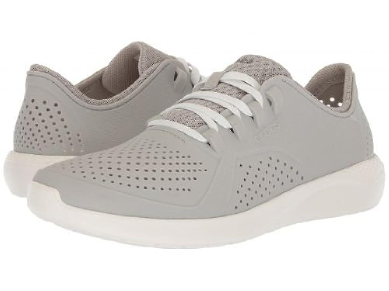 [クロックス] メンズ 男性用 シューズ 靴 スニーカー 運動靴 LiteRide Pacer - Pearl White/White [並行輸入品]