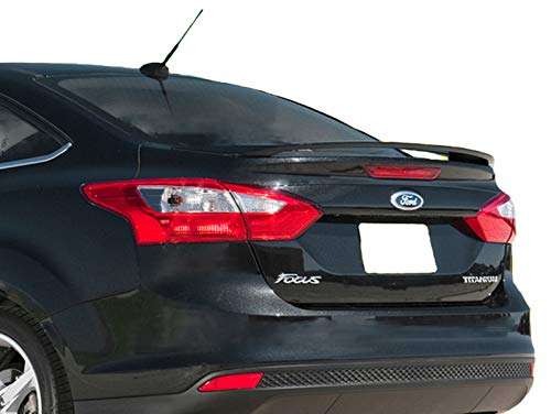 Accent Spoilers - Spoiler for a Ford Focus 4-Door Factory Style Spoiler-Sterling Gray Metallic Paint Code: UJ