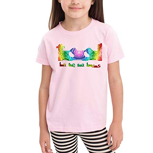 Tool Band Colorful Children's T-Shirt Pink 4t