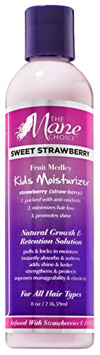 Mane Choice Sweet Strawberry Kids Moisturizer, 8oz, 8 Oz