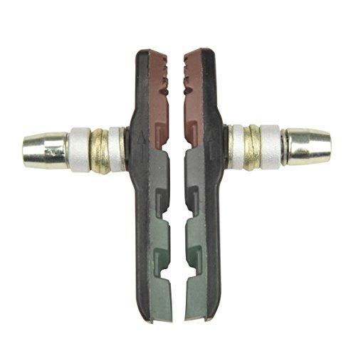 FISCHER Bremsschuhe | Bremsbeläge | für V-Bremse und Cantilever-Bremse | für Fahrräder und E-Bikes geeignet | DIN EN 14766 | 2 Stück