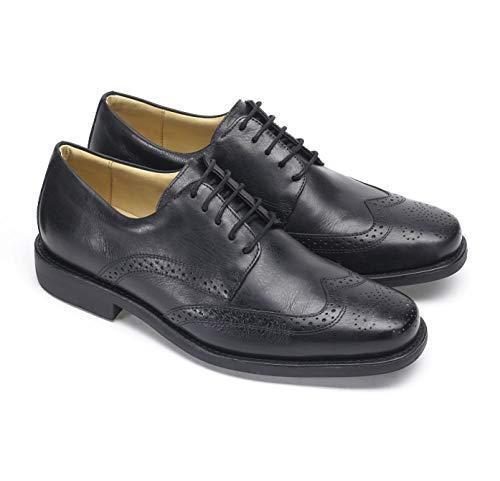 Anatomic & Co Manaus - Zapatos formales para hombre, de piel, con cordones, talla 6-15, color Negro, talla 49 EU