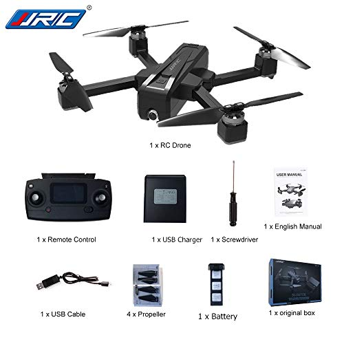 DishyKooker Ferngesteuerte Luftfahrzeuge Drohnen JJ-RC X11 5G WiFi FPV Mit 2 Karat Kamera GPS 20 min Flugzeit Faltbare RC Drone Quadcopter vs f11 b4w sg906 3 Battery