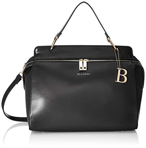 Bulaggi Kayla Handbag - Borse a zainetto Donna, Nero (Schwarz), 12x26x30 cm (B x H T)