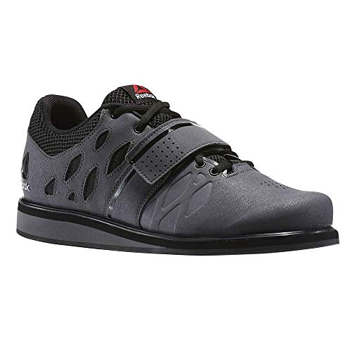 Reebok Men's Lifter Pr Cross-Trainer Shoe, Ash Grey/Black/White, 9 M US