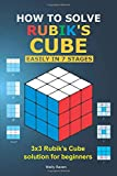 How to solve Rubik's Cube easily in seven stages: 3x3 Rubik's Cube solution for beginners