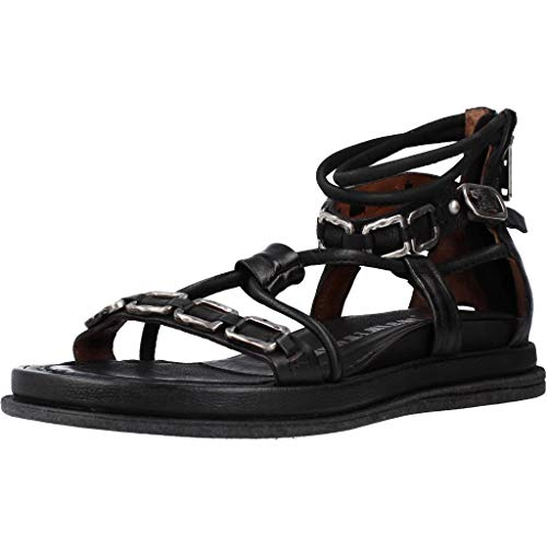 Airstep/A.S.98 Pola Square Sandalias Mujeres Negro - 41 - Sandalias Shoes