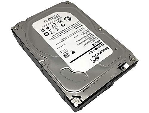 Seagate 4TB Terascale HDD SATA 6Gb/s 64MB Cache 3.5-Inch Internal NAS Hard Drive (ST4000NC001) - 3 Year Warranty (Renewed)