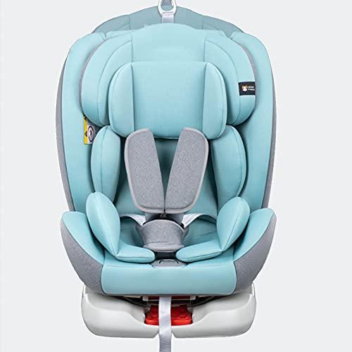 RTOFO Silla para Niños En El Automóvil, Use Tela Ignífuga, Aumente El Asiento del Automóvil, Protección contra Impactos Laterales De 4 Capas, Adecuado para Niños De 0 A 12