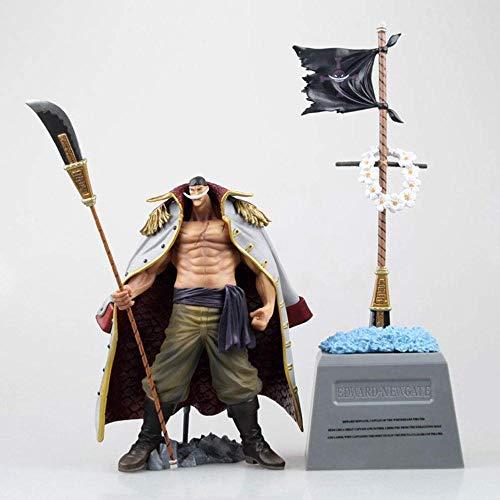 YYZZ Animation Figur One Piece Whitebeard Tombstone Figur Figuren Statue 26CM
