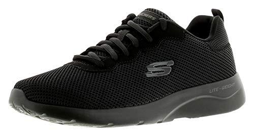 Skechers Dynamight 2.0- Rayhill, Men's Trainers, Black (Black/Black), 9.5 UK (44 EU)