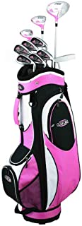 Golf Girl FWS2 Lady Hybrid Club Set & Cart Bag