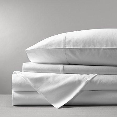 Boll & Branch Luxury Fair Trade Long Staple Organic Cotton Sheet Set - King, White