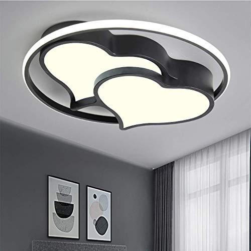 Hauptbeleuchtung Moderne Led-Deckenleuchte, Herzform Deckenleuchte Beleuchtung Jungen Mädchen Deckenleuchte Schlafzimmer Kinderzimmerlampe Fernbedienung Kronleuchter Runde Wohnzimmerlampe Wandleuchte