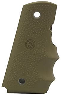 Hogue Officers Model Rubber Grip with Finger Grooves FDE