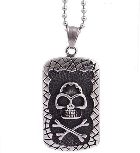 NONGYEYH co.,ltd Men Jewelry Stainless Steel Skull Pendant Necklace Men Boy Gifts Unique Gifts