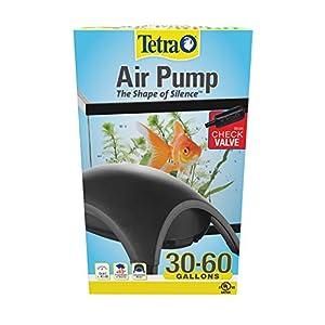 Tetra Whisper Air Pump 30 To 60 Gallons, For aquariums, Quiet, Powerful Airflow